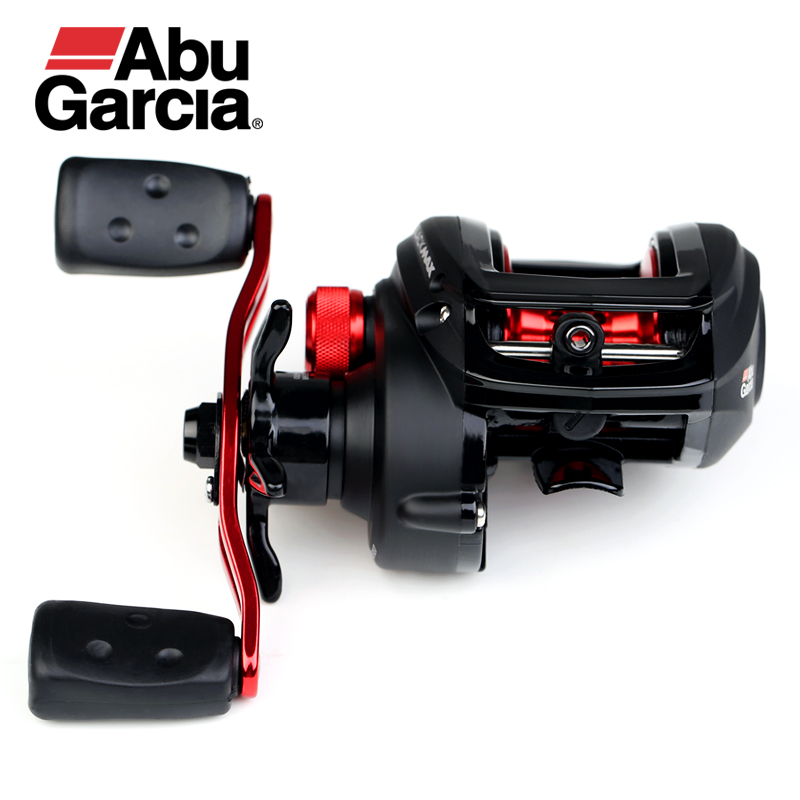Abu Garcia Black Max3 BMAX3 Right Left Hand Bait Casting Fishing Reel 4+1BB 6.4:1 8KG Max Drag Drum Trolling Baitcasting Reel система освещения iculed