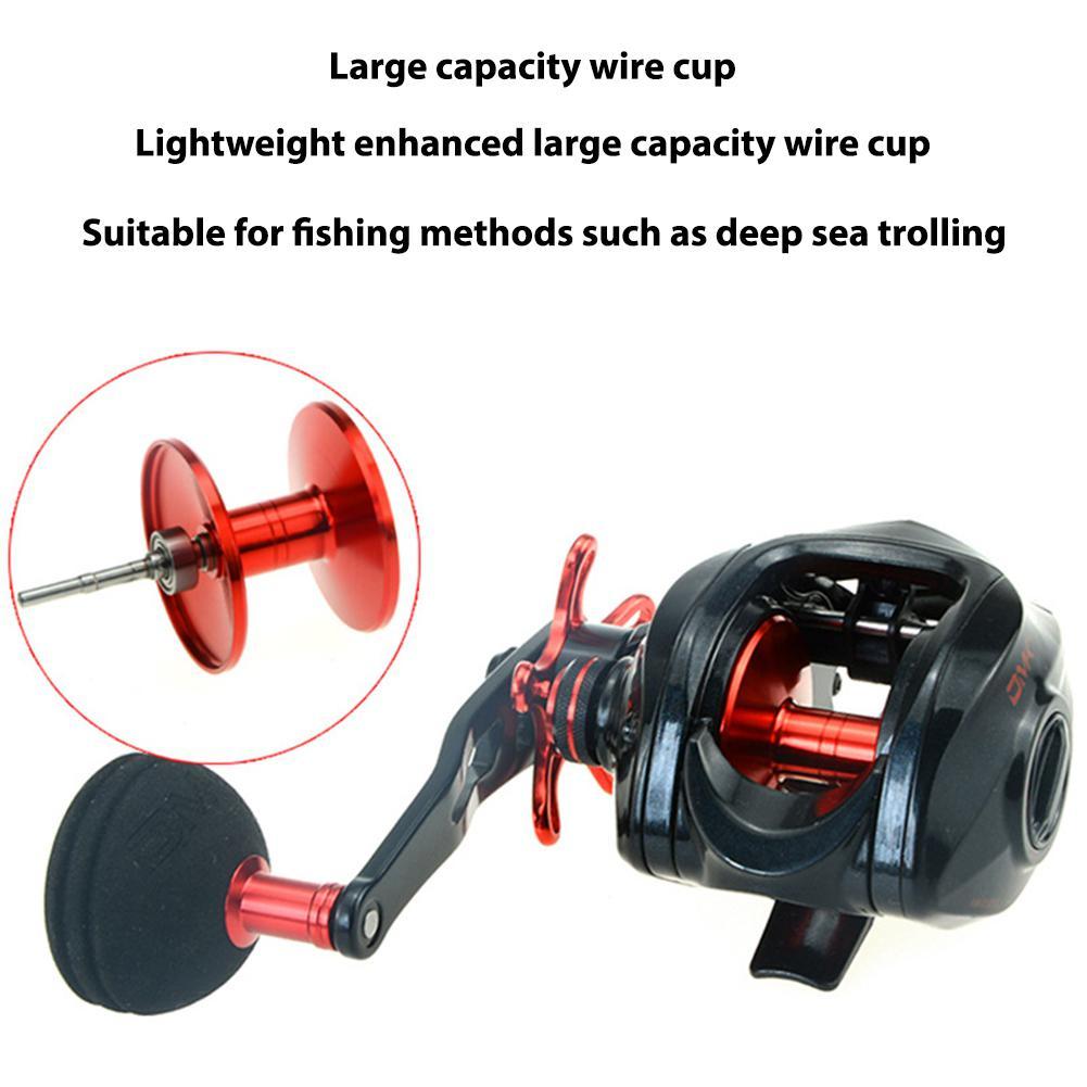 Baitcasting Fishing Reel High Speed Max Drag Large Capacity Spool Carp Fishing Reel in Fishing Reels from Sports Entertainment