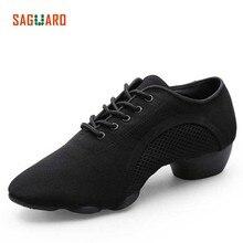 SAGUARO Professional Dance Shoes Women Men Adults Latin Jazz