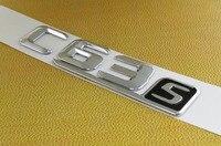 Auto Car Chrome Black C63S C63 S Emblem Badge Sticker