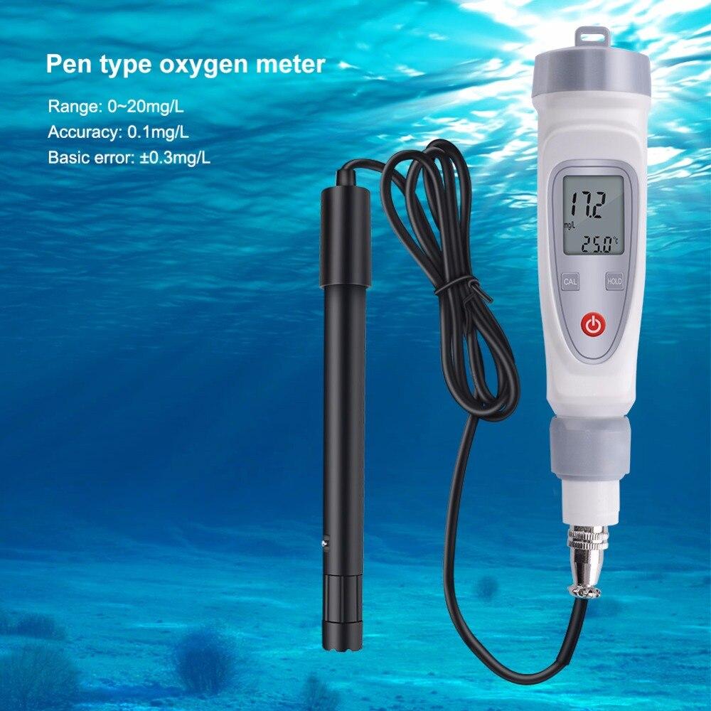 2019 N Digital Dissolved Oxygen Meter Portable JPB-70A Dissolved Oxygen Pen Water Quality Tester Dissolved Oxygen Detector2019 N Digital Dissolved Oxygen Meter Portable JPB-70A Dissolved Oxygen Pen Water Quality Tester Dissolved Oxygen Detector