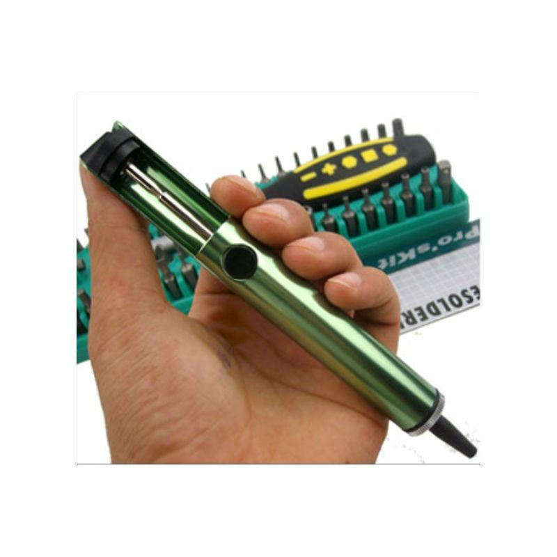100% Original Proskit 8pk-366d Anti-static Solder Sucker Desoldering Pump Tool Removal Vacuum Soldering Iron Gun At Any Cost Desoldering Pumps Back To Search Resultstools