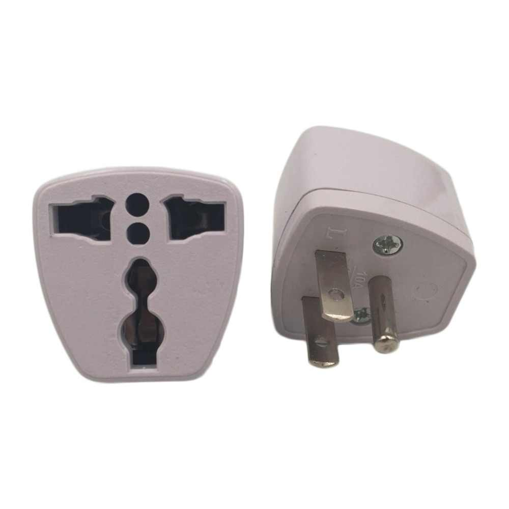 1pc Universal Travel Adapter US AU EU to UK Plug Travel Wall AC Power Adapter 250V 10A Socket Converter