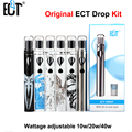 Original ECT Drop E-cigarrette 2.0ml huge vaporizer 2200mah battery electronic cigarette 10W-20W-40W ect drop kit vaporizer