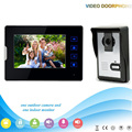 XSL-V70T2-L 1V1 XSL Manufacturer 2016 7Inch Touch-Keys Video Door Phone for Apartments Home Security with Intercom System
