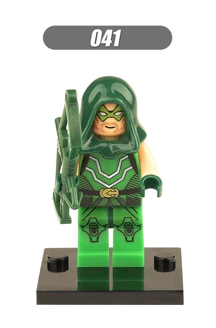 Super Heroes Green Arrow Robin Martian Manhunter Winter Solider Batman Building Blocks Bricks Action Children Gift Toys XH 041 bradbury r martian chronicles