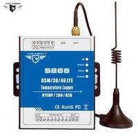 S266 4G 3G GSM Temperature Monitoring Alarm Unit For Remote Monitoring Onsite Temperature With Phone APP