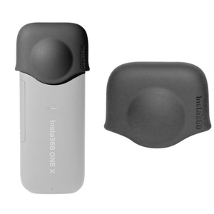 Image 3 - Funda protectora de silicona duradera para cámara, Accesorios Negros, protección antipolvo, antiarañazos, tapa de lente para Insta360 One X