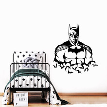 Plane Sticker Batman Bedroom Wall Stickers Mirror For Kids Rooms Home Party Decor Wallpaper