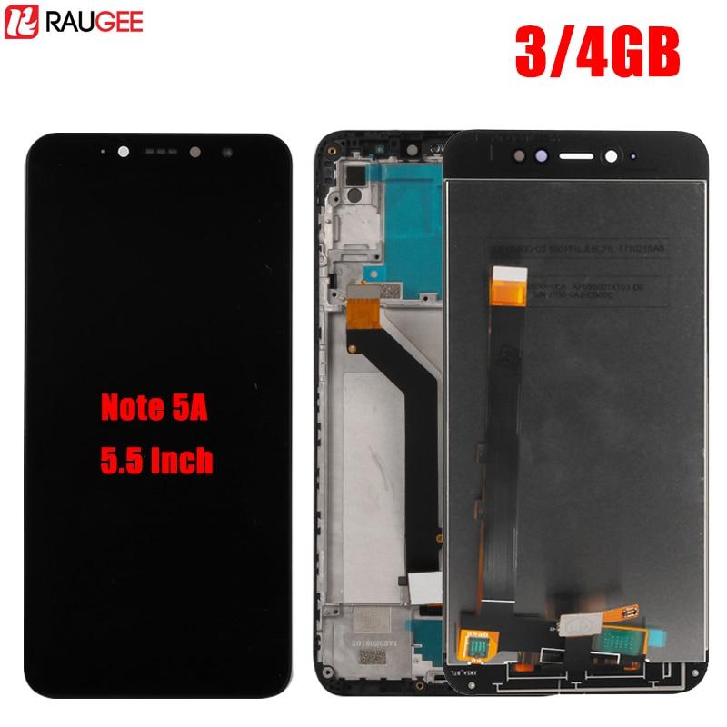 Für Xiaomi Redmi Hinweis 5A Pro LCD Display Touchscreen Digitizer Montage Für Redmi Y1 3 gb 4 gb RAM prime Globale Version