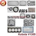 Полный капитальный ремонт двигателя полный комплект прокладок для двигателя Kubota: V1305 4D76