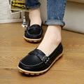 Woman casual Shoes PU 2016 new fashion Peas shoes Women
