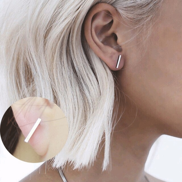 Vintage Jewelry Exquisite Gold Color Leaf Earring Plant Modern Beautiful Feather Stud Earrings for Women Gifts Brincos Bijoux 5