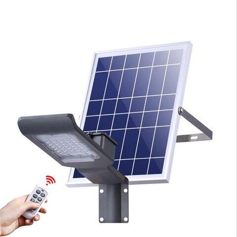 controle remoto escurecimento luz de rua solar 20 led solar luz de parede ao ar