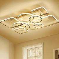 Candeeiro Plafon Lustre лампа для гостиной домашнего освещения Plafondlamp Lampara techсветодио дный O LED Luminaria De Teto потолочный светильник