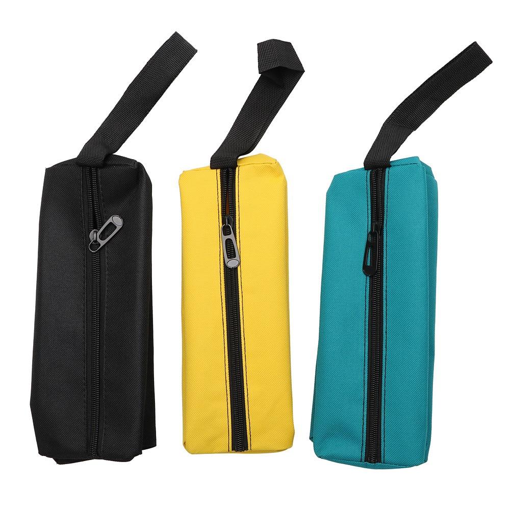 Купить с кэшбэком DIYWORK Hand Storage Bag Oxford Portable Tools Packaging for Screws Nails Drill Bit Metal Parts Tool Bag Waterproof Organizer