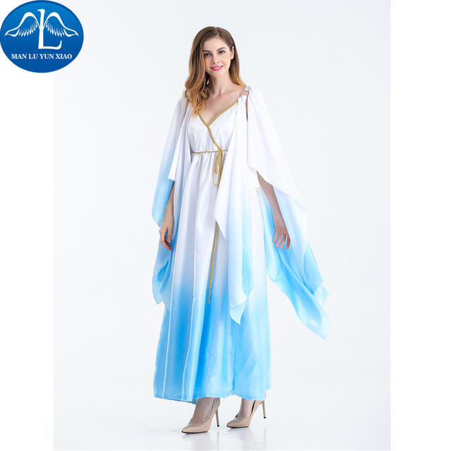 manluyunxiao 2017 new women cosplay costume ancient egypt dress halloween costumes for women wholesale