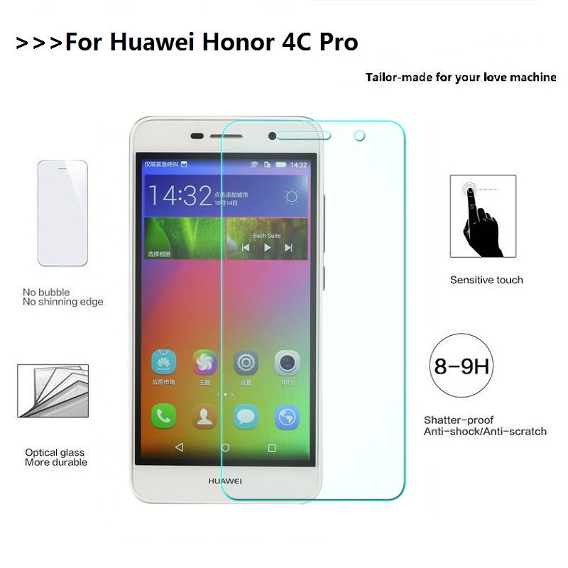 For Huawei Honor 4C Pro Tempered Glass Huawei Honor 4C Pro Screen Protector 4 C Pro