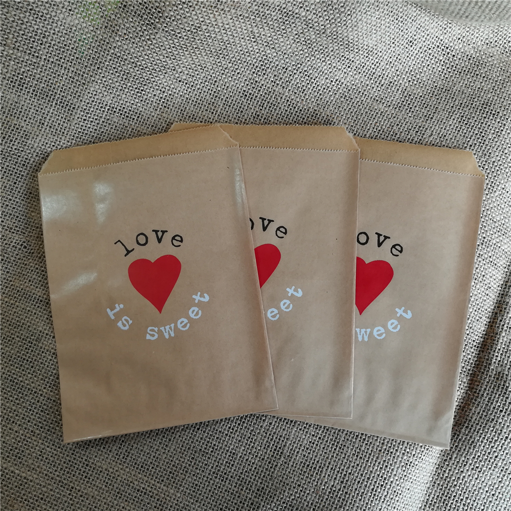 25 Food Safe Bags PAPER BAGS SWEET FAVOUR BUFFET GIFT SHOP PARTY BAGS