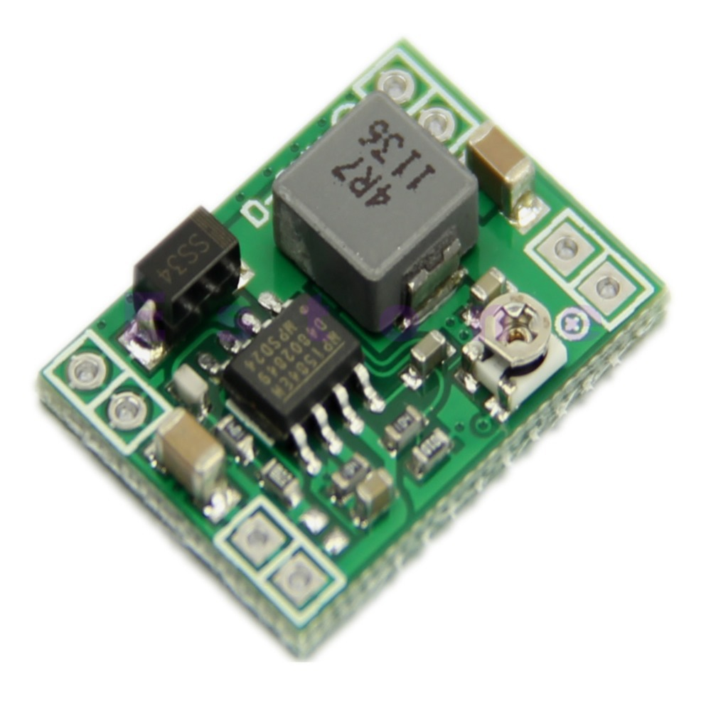 New 1pc Standard Power Supply Module Adjustable Step-down 3A DC-DC Converter -Y103