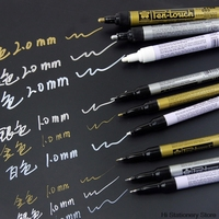 2 Pz/lotto 0.7/1/2 millimetri Sakura Disegno Professionale Artista Vernice Marker Art Supplies