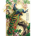 Michelangelo Wooden Jigsaw Puzzles 1000 Pieces Chinese Old Master Auspicious Peacock Educational Toy Decorative Painting Gift