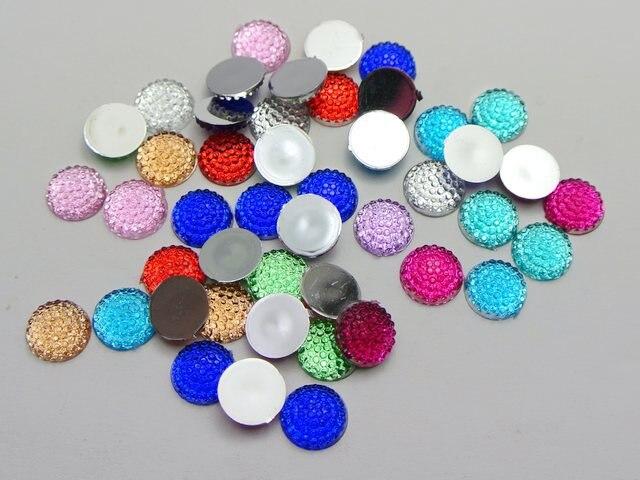 Craft DIY Transparent Flatback Glass Half Sphere Ball Cabochon No Hole 8mm-48mm
