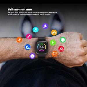 Image 4 - Смарт часы VERYFiTEK Y7 с монитором кровяного давления, пульсометром, фитнес трекером, водонепроницаемые часы для мужчин и женщин, Смарт часы для Android и IOS