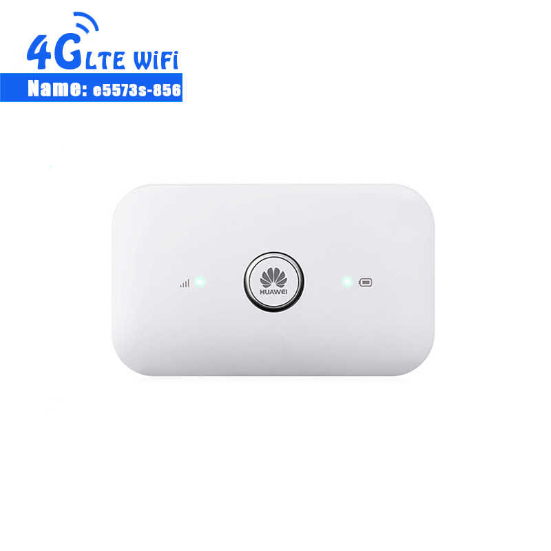 Unlocked HUAWEI E5573s-856 e5573 Dongle Wifi Router 4G Mobiele WiFi Router LTE Cat4 150 Mbps