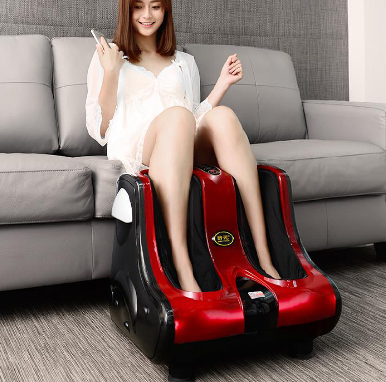 цены на Household Multi-function electric foot massager Circular massage judo airbags Heat the leg machine old man leg massager/130905/4 в интернет-магазинах