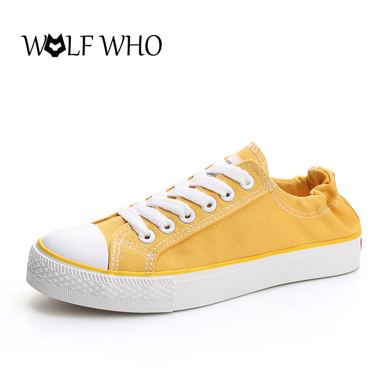 WOLF WHO 4 Color Classical Old Canvas Shoes Women Student Flats Lace Up Espadrilles for Women Half Slippers Autumn Women Loafers vintage embroidery women flats chinese floral canvas embroidered shoes national old beijing cloth single dance soft flats
