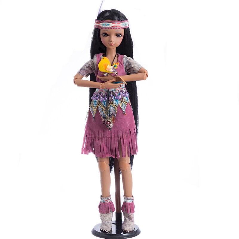 Princesa anna bjd boneca sd 60 cm 1/3 boneca tan menina brinquedos bebe reborn coleção