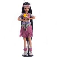 Princess Anna bjd doll sd 60 cm 1/3 doll tan girl toys bebe reborn collection