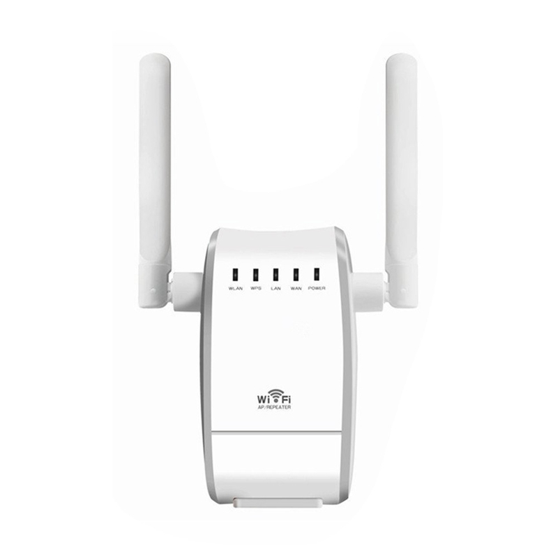 Wireless Router WiFi Repeater Wireless N Range Extender Mini Ap Router Signal Booster Mini AP Router Network Dual External Ant