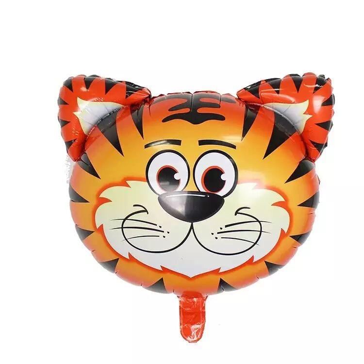 Pz leone cartone animato asino tigre cervo zebra mucche