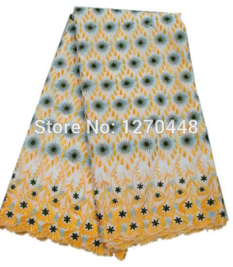 Snowflake popular design swiss lace modern fabric hot sale dress