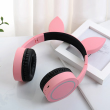 New headset Bluetooth wireless Net red ear illumination bilateral stereo bluetooth headphone