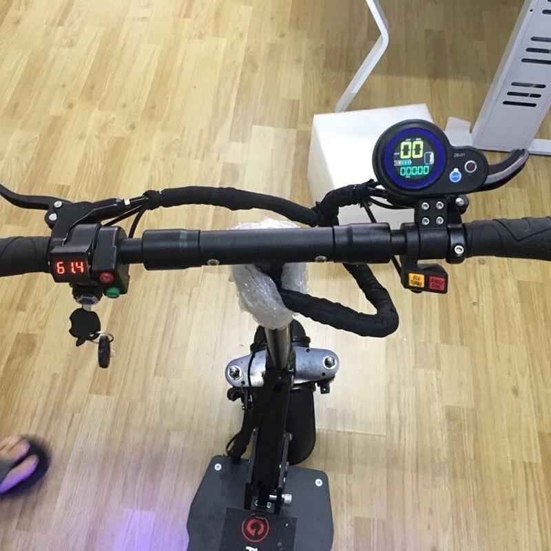 Trottinette électrique puissante 2 roues trottinette électrique debout planche à roulettes électrique adulte coup de pied trottinette électrique hoverboard - 5