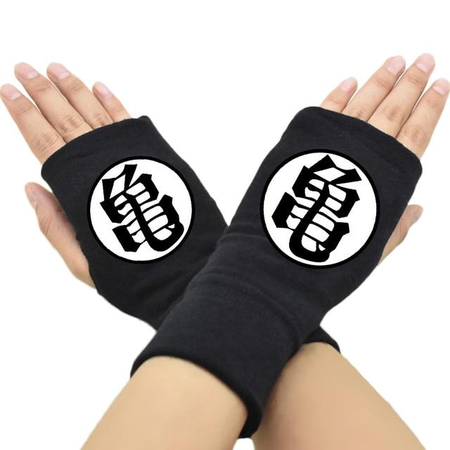 43fdfcb27 2018 guantes sin dedos de moda para hombre y mujer Anime Dragon Ball Z Son  Goku
