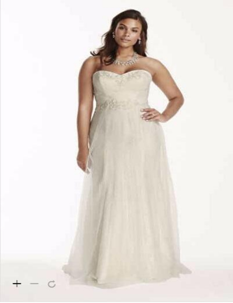 Popular davids bridal buy cheap davids bridal lots from for Lace wedding dress davids bridal