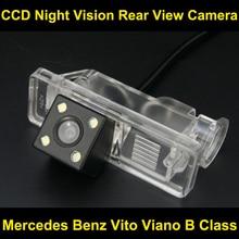 PARA Mercedes Benz Vito Viano B Clase CCD Cámara de visión Trasera Cámara del Revés del Estacionamiento de Copia de seguridad