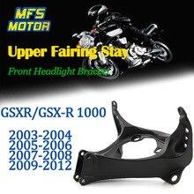 цена на Upper Stay Brackets For 03-12 Suzuki GSXR1000 GSXR GSX-R 1000 Front Headlight Fairing Bracket Motorcycle Parts 2003 2004-2012