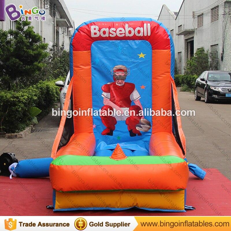 Прочный 1,3x2,5x2 м надувная площадка для бейсбола, метания типа карнавальных игр для взрослых и детей, игрушка для стрельбы, вышибатель, бесплатная доставка - 2