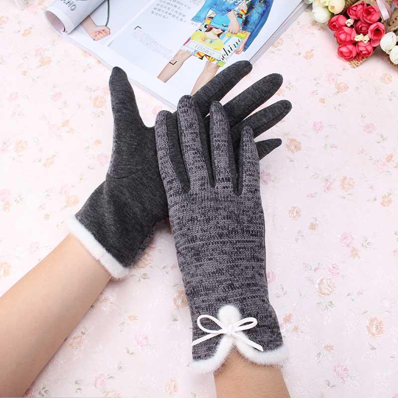 Armstulpen Finger Handschuhe Mädchen Warm Arm Schnee Muster Stricken Für Frauen Lange Geschenk Winter