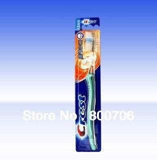 Cepillo de dientes de goma de protección de cerdas suaves de 10 crestas