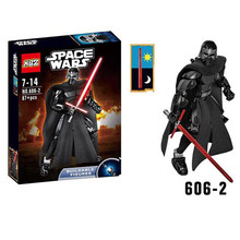 XSZ 606-2 Star Wars Series Darth Vader Black Lord Sith Lord Building Block Minifigure Toys Best LEPIN Toys C0A634
