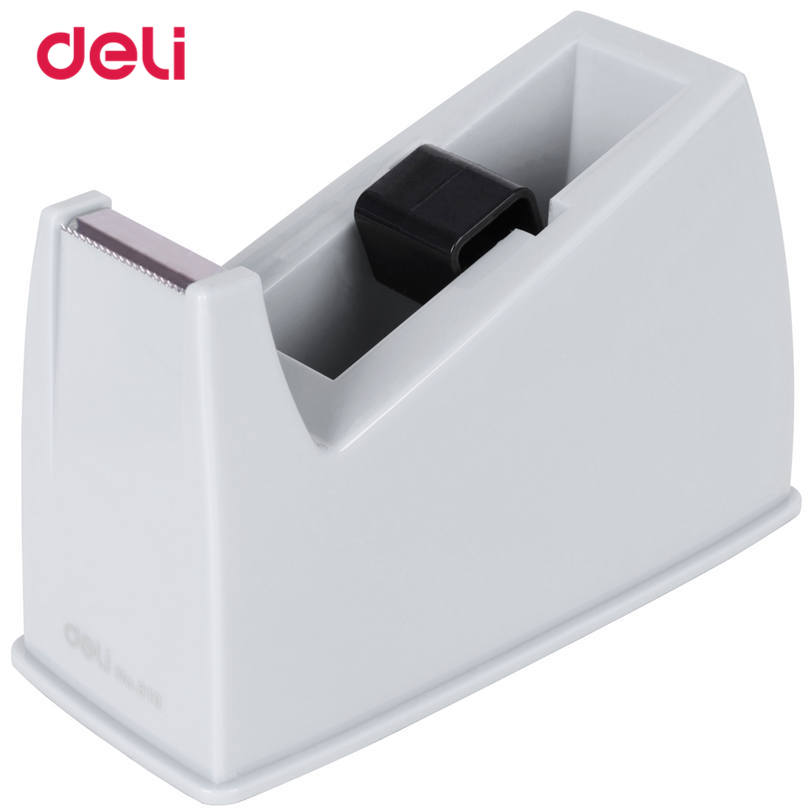 Deli business supplies Effective Adhesive Tape cutter Machine Transparent Tape cutter Tape Dispenser Fit Large Width 18mm цена