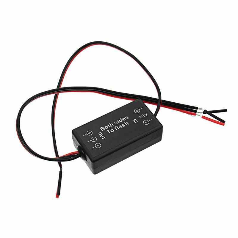 15 Вт 6A обе стороны контроллер вспышки мигалка модуль для автомобиля светодиодный стоп-сигнал светильник единый светильник DC12V