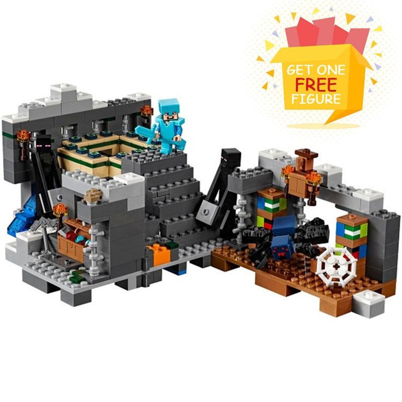 Bela Pogo Compatible Legoe Minecrafte My World Zombies Building Blocks Bricks toys for children lele bela my world minecraft dragon blue sky 548pcs building blocks bricks toys for children gift mye