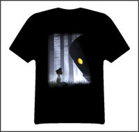 LEQEMAO The Iron Giant Movies T Shirt O Neck Male Low Price Steampunk T Shirt Personality